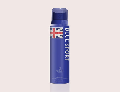Blue Sport by NUVO PARFUMS - 100ml  Deodorant Body Spray