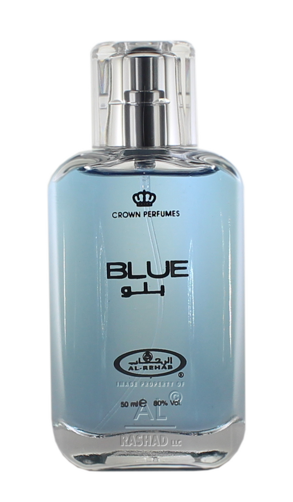 Blue Spray - Al-Rehab Eau De Spray Perfume (50 ml/1.65 fl. oz)