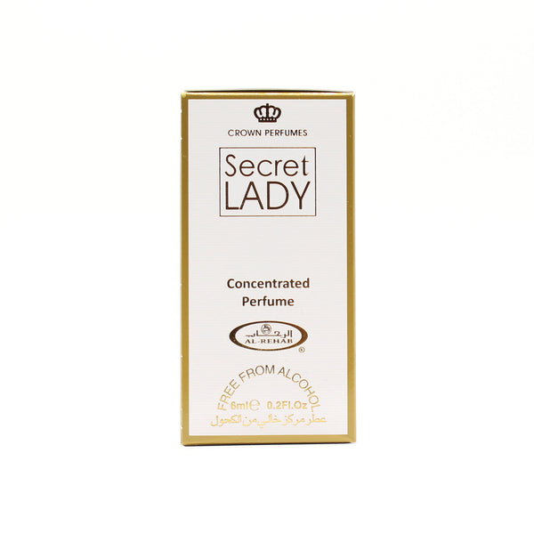 Secret Lady - 6ml (.2oz) Roll-on Perfume Oil by Al-Rehab