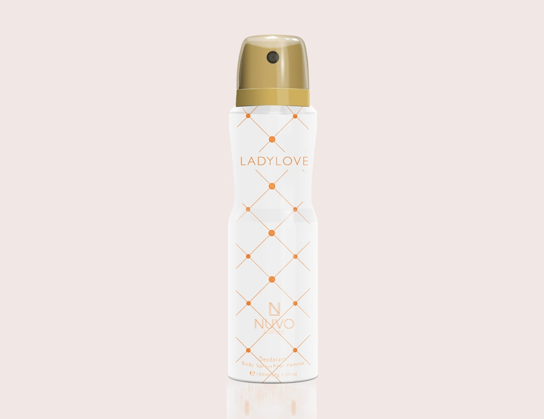Lady Love by NUVO PARFUMS - 100ml  Deodorant Body Spray