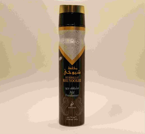 Mukhallat Shuyookhi - Air Freshener by Khadlaj (300ml/194 g)