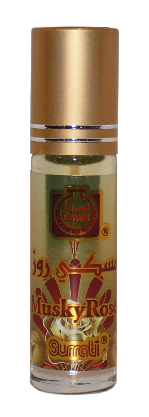 Musky Rose - 6ml Roll-on Perfume Oil by Surrati