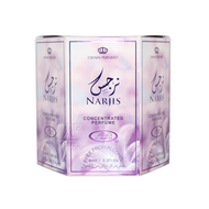 Narjis - 6ml (.2oz) Roll-on Perfume Oil by Al-Rehab (Box of 6)