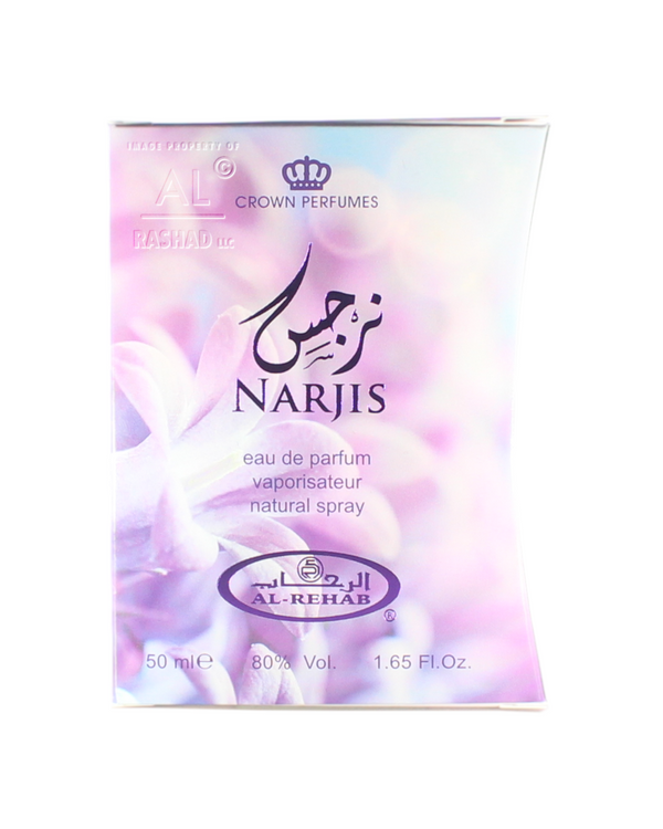 Narjis - Eau De Parfum Natural Spray (50ml/1.65fl.oz.) by Al-Rehab