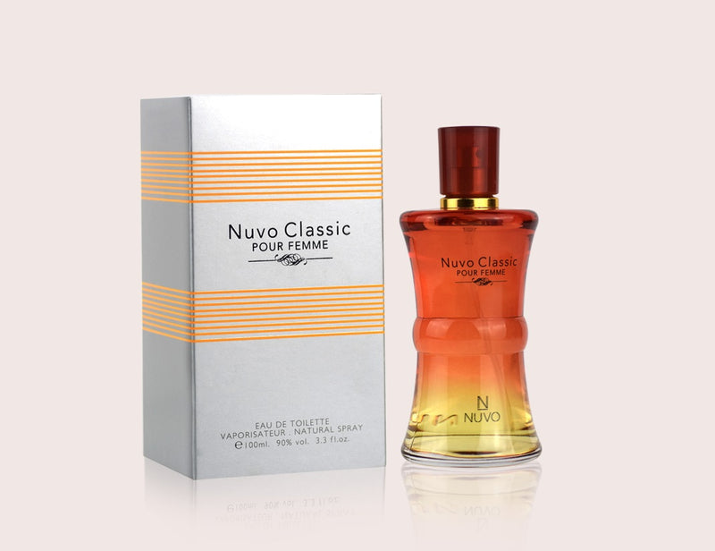 NUVO CLASSIC by NUVO PARFUMS - POUR FEMME (WOMEN) - 100ml Natural Spray