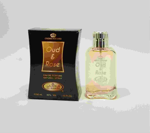 Oud & Rose - Al-Rehab Eau De Perfume Natural Spray (50 ml/1.65 fl. oz)