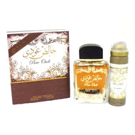 Pure Oudi - Eau De Parfum Spray (100 ml (with Deo) - 3.4Fl oz) by Lattafa