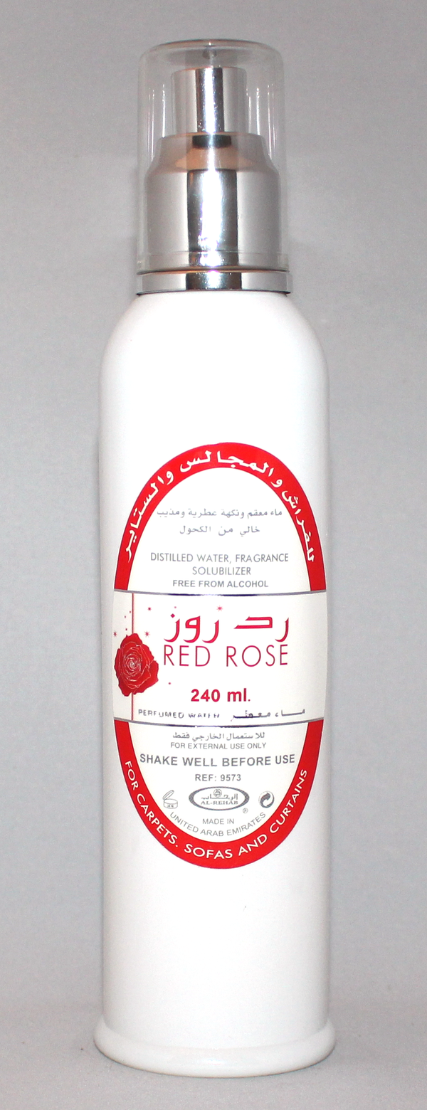 Red Rose Room Freshener by Al-Rehab (240 ml)