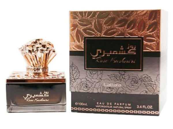 Rose Kashmiri - Eau De Parfum Spray (100 ml (with Deo) - 3.4Fl oz) by Lattafa