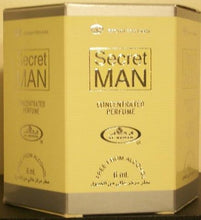 Load image into Gallery viewer, Secret Man - 6ml (.2oz) Roll-on Perfume Oil by Al-Rehab (Box of 6)