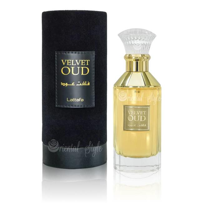 Velvnet Oud - Eau De Parfum Spray (100 ml (with Deo) - 3.4Fl oz) by Lattafa