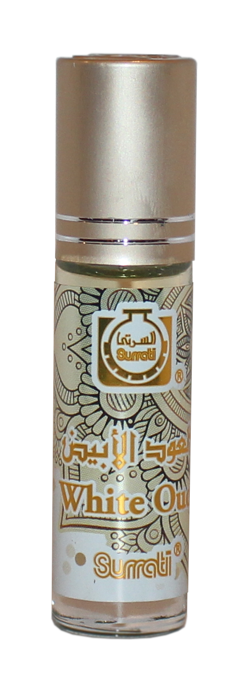 White Oud - 6ml Roll-on Perfume Oil by Surrati