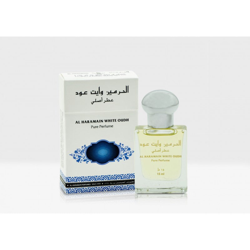 Al Haramain White Oudh - Oriental Perfume Oil [15 ml]