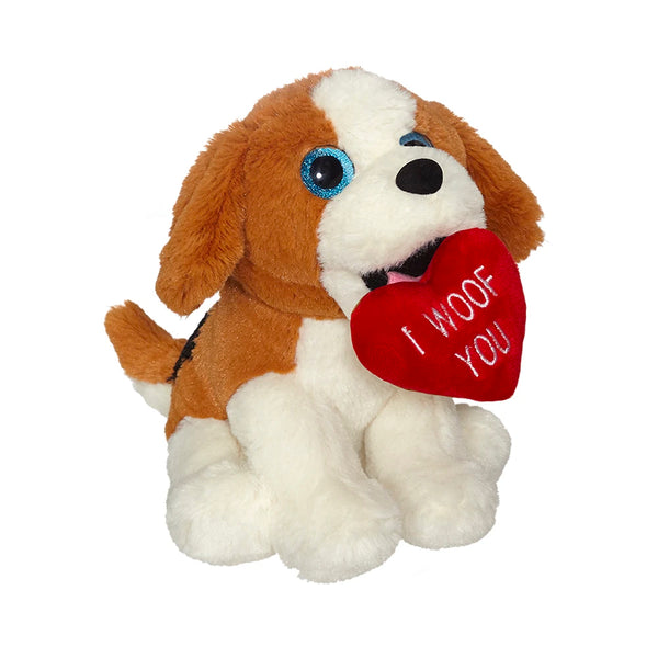 Valentine Beagle Mini Plush