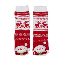 Messy Moose Socks, Santa Claus