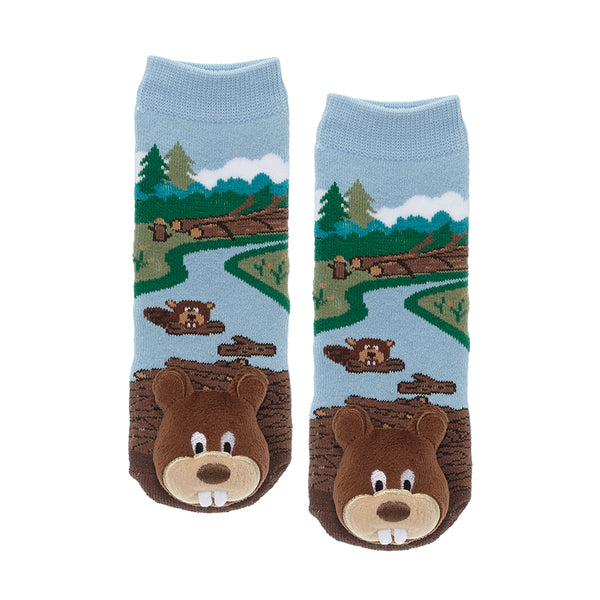 Messy Moose Socks, Beaver