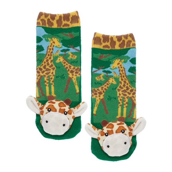 Messy Moose Socks, Giraffe
