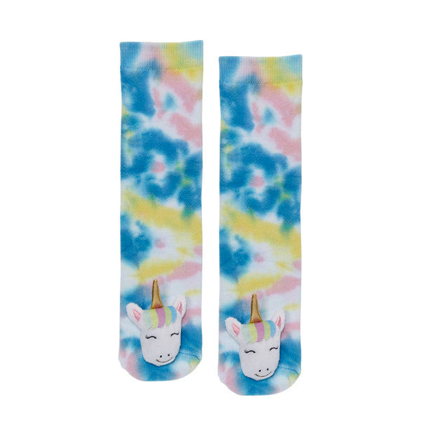 Messy Moose Socks, Tie Dye Unicorn