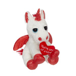 Valentine Unicorn Mini Plush