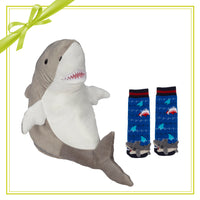 Gift Set - Sebastian Shark Buddy & Socks