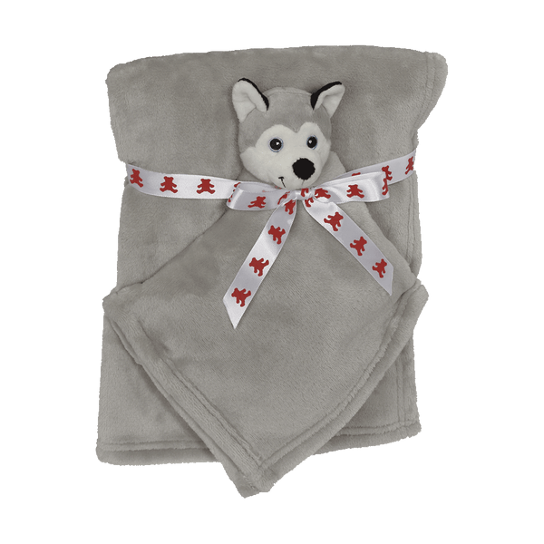 Husky Blankey Buddy Set