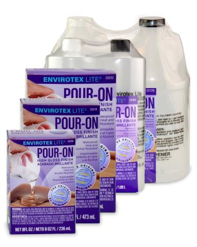 Pour-On Environtex Epoxy Resin