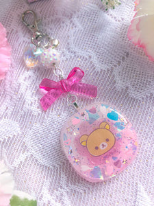 Sakura Kuma Resin Charm Small