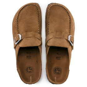 BIRKENSTOCK BUCKLEY SUEDE, NARROW FIT