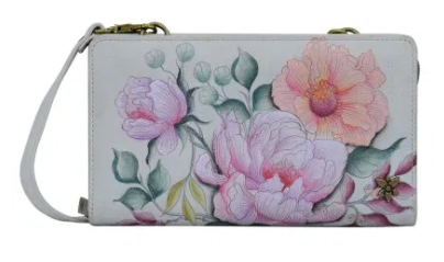 Load image into Gallery viewer, ANUSCHKA WALLET CROSSBODY 1149-BLF