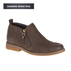 HUSH PUPPIES MAZIN CAYTO - DARK BROWN NUBUCK
