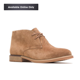 HUSH PUPPIES BAILEY CHUKKA BOOT - CHESTNUT SUEDE