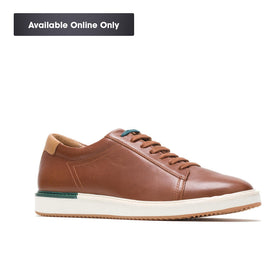 HUSH PUPPIES HEATH SNEAKER - COGNAC LEATHER