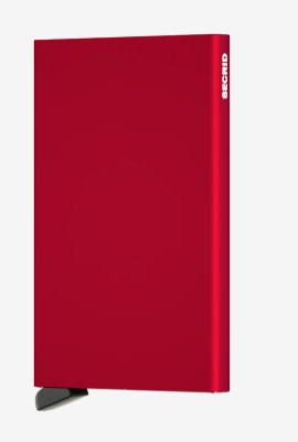 SECRID CARDPROTECTOR C-RED