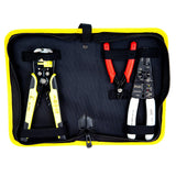 KOTTO Wire Stripper Crimping Tool Kit, 8 Inch Self-Adjusting Wire Stripper, Automatic Wire Stripping Tool