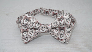 Liberty Wolf Pack Grey Bow Tie