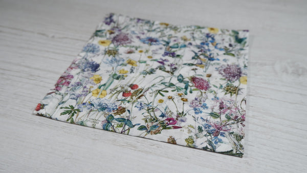 Liberty London Wild Flowers Pocket Square