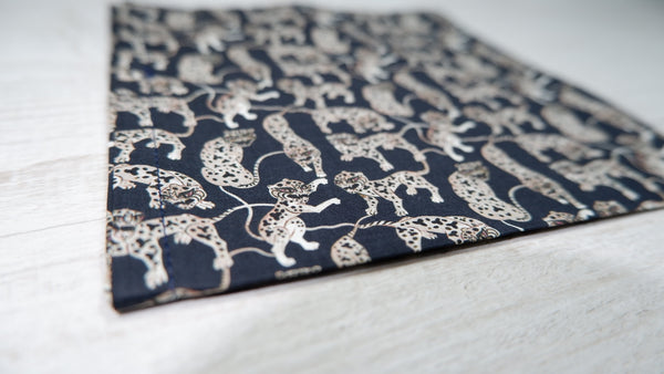 Liberty Heads and Tails Mens Pocket Square