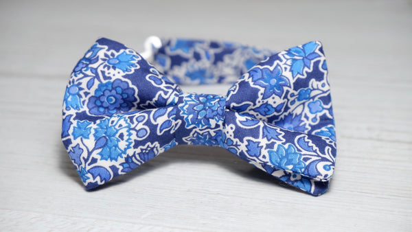 Liberty Pereira Blue Boys Bow Tie