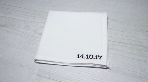 Men's Personalised Pocket Square