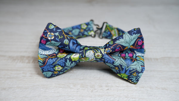 Liberty London Strawberry Thief Bow Tie