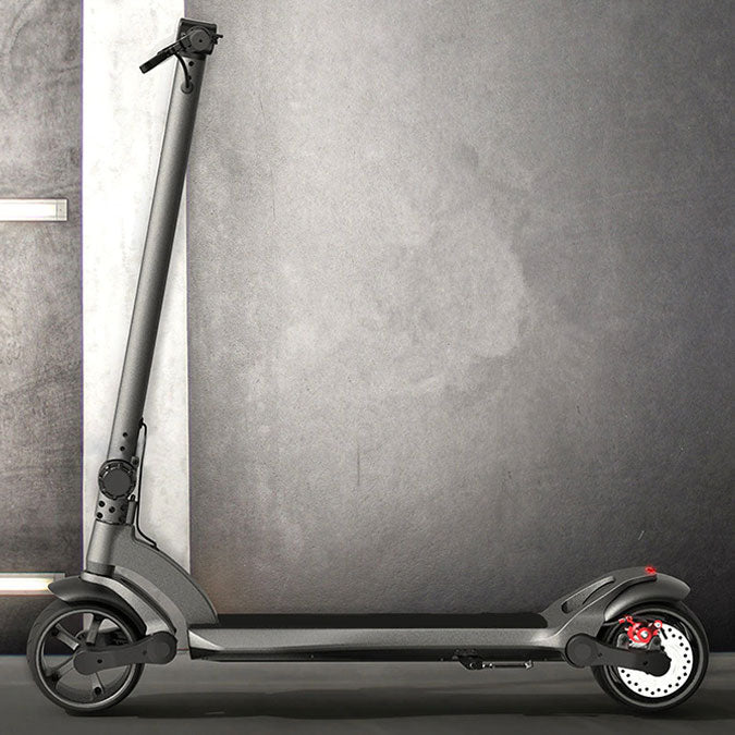 Mercane Wide Wheel electric scooter side