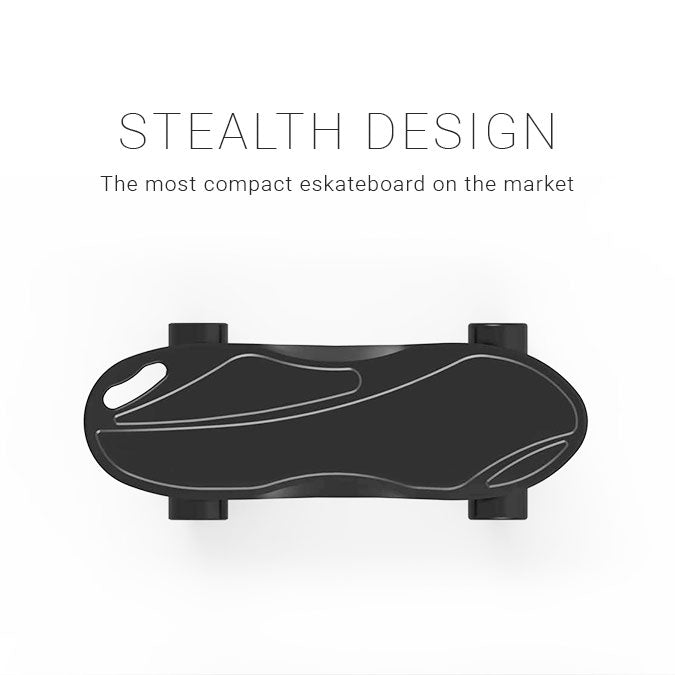 Swallow King Kong Pro electric skateboard stealth design
