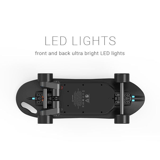 Swallow King Kong Pro electric skateboard LED lights