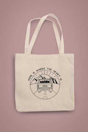 Home Is Where The Heart Is Tote
