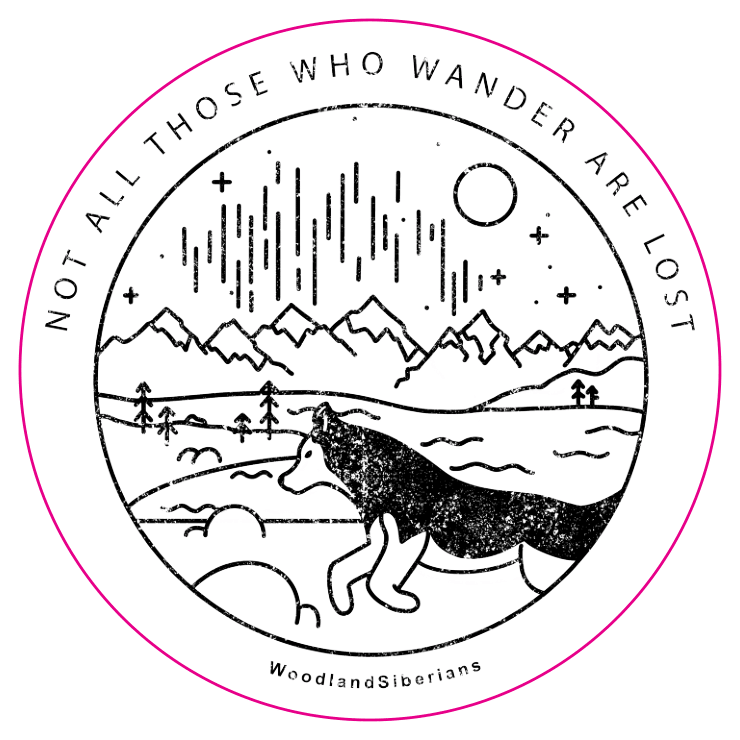 Wander with the Woodlands Sticker
