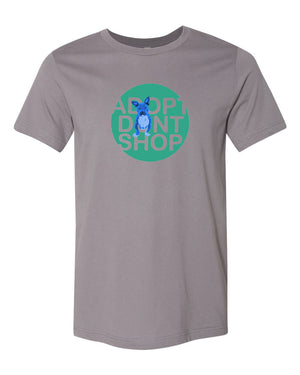 Adopt Dont Shop Tee (Blue Tater)