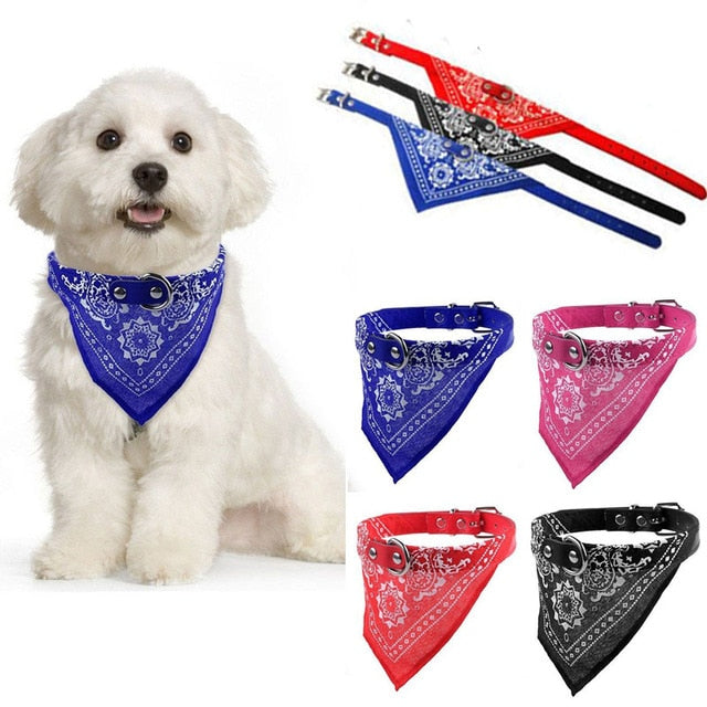 Dog's Bandana Collar - topnova