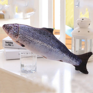 Cantip Plush Fish Toy for Cat - topnova