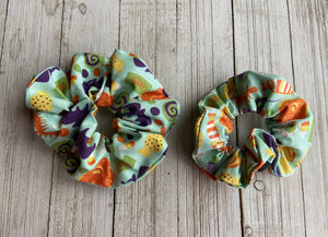 Scrunchie Circle Orange