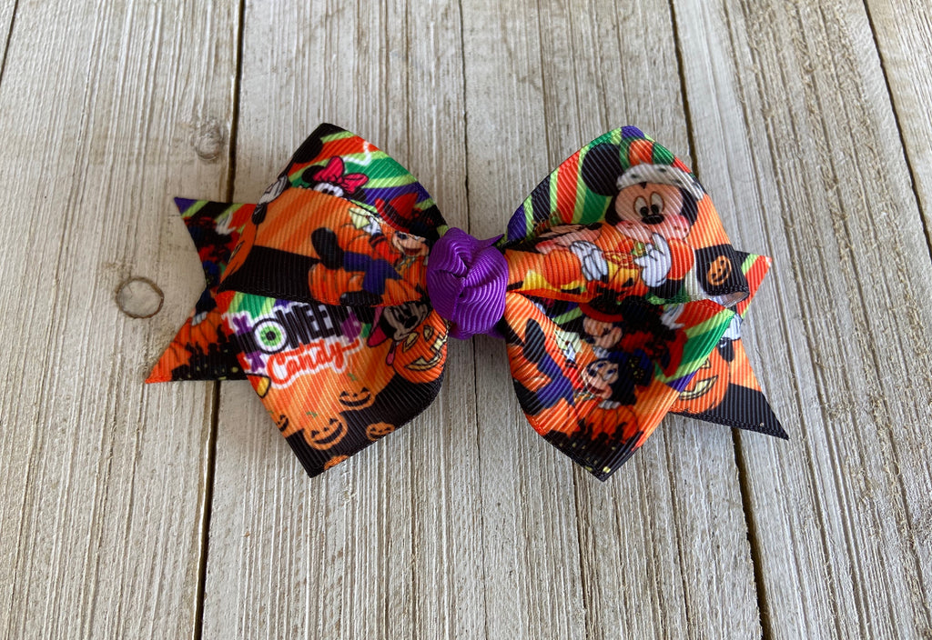 Mickey and Minnie Halloween Candy Sweetpea